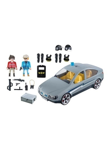 Playmobil Playmobil 9361 City Swat Car Renkli Renkli